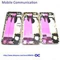 6 Г Задняя Крышка Батареи Полный Жилищно Для Iphone 6 6G 4.7 ''Battery Дверь Со шлейфом Замена Мелких деталей