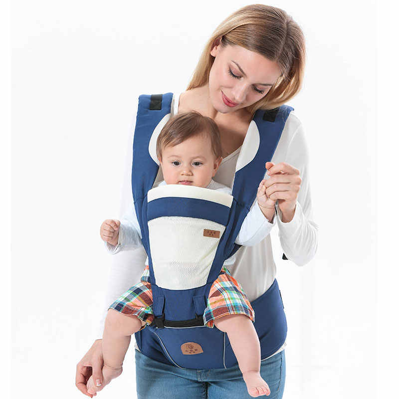 cf18b19a97a01 Hooded ergonomic baby carrier backpack portable newborn infant kangaroo  holder baby gear adjustable sling wrap Breathable