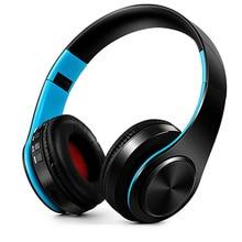 Auricolari Wireless cuffie Stereo senza fili Bluetooth cuffie senza fili portatili supporto Radio FM TF Card con microfono per telefono