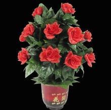 Бесплатная доставка! Удаленный Управление Цветущий цветок Буш 20 цветов, этап фокусы, вечерние магия, весело, аксессуары, ментализм, иллюзия