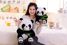 1Pcs Baby Kawaii Panda Plush Toy Realistic Animal Toys for Children Girl Boy Kid Stuffed Plush Adult Doll Birthday Party Gift 1pcs ben 10 cosplay hat plush toy for boy children