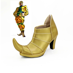 Image 1 - JOJOS BIZARRE ADVENTURE 3 Dio Brando Cosplay Shoes High Heel Custom Made