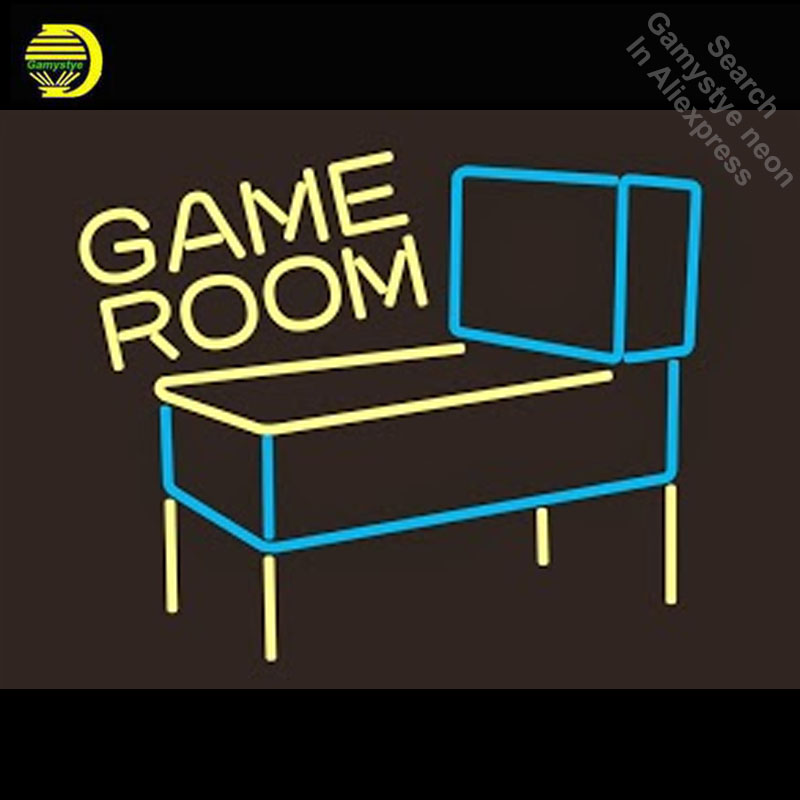 Neon Sign for Game Room Pinball Machine  Neon Bulb sign handcraft neon signboard wall icons neon wall lights anuncio luminosNeon Sign for Game Room Pinball Machine  Neon Bulb sign handcraft neon signboard wall icons neon wall lights anuncio luminos
