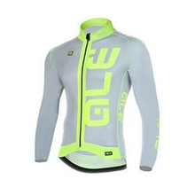 ALE Pro Men Cycling Jersey Ropa ciclismo Long Sleeves coat MTB Mountain bicicleta Bike Bicycle clothing breathable Sportwear L9