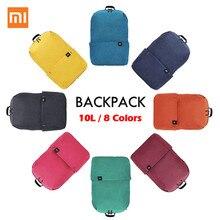 Xiaomi Mi, разноцветный рюкзак, вес 165 г, 8 цветов, 10л, сумка, маленький размер, на плечо, для отдыха, спорта, нагрудная сумка для мужчин и женщин