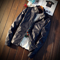 New man spring Korea favors the new version of the leisure men leather coat