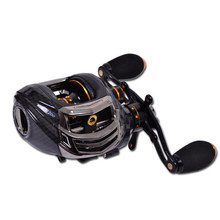 Trulinoya TS1200 Fishing Reel 6.3:1 14BB 209g  Black Left Handed 13+1BB Baitcasting Bait Casting Carp Pesca Fishing Tackle