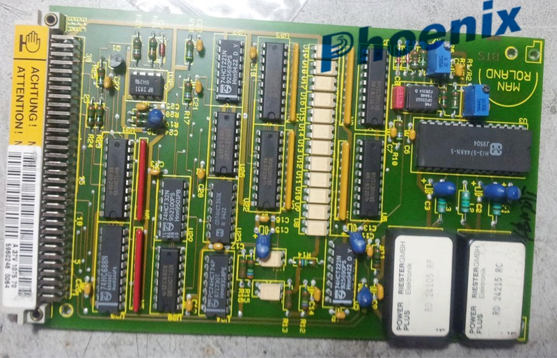 Phoenix Original And Used A37v107570 Roland 700 Circuit