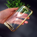Luxury Plating Gilded TPU case cover For Asus Zenfone 2 Laser ZE500KL ZE500KG skin fundas cases for Asus ZE500KL back coque