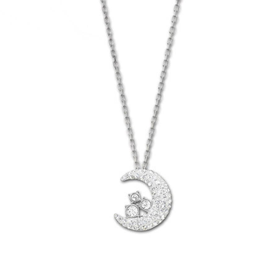2018 SWA moon shape.Official 1:1 has the Logo. elegant ladies JEWELRY Free package mail