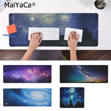 MaiYaCa Funny Starry Sky Comfort Mouse Mat Gaming Mousepad Rubber PC Computer mousepad