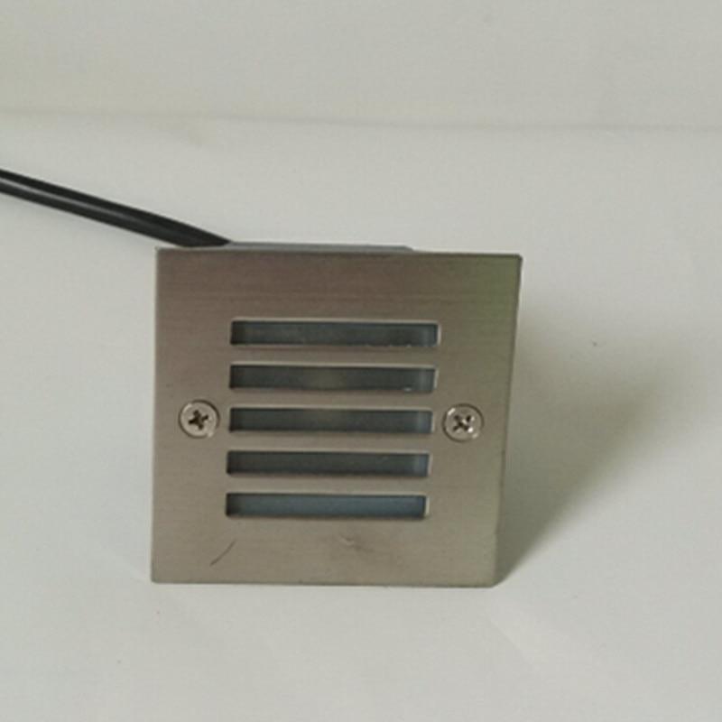 Venta al por mayor de 3W Warm Cold White RGB LED de iluminación subterránea empotrada en el piso lámpara orientada luces interiores / exteriores AC85-265V
