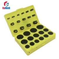 386pcs Black NBR O Ring Seal Kit 30 Different Sizes Rubber O Ring Sealing Gasket Assortment