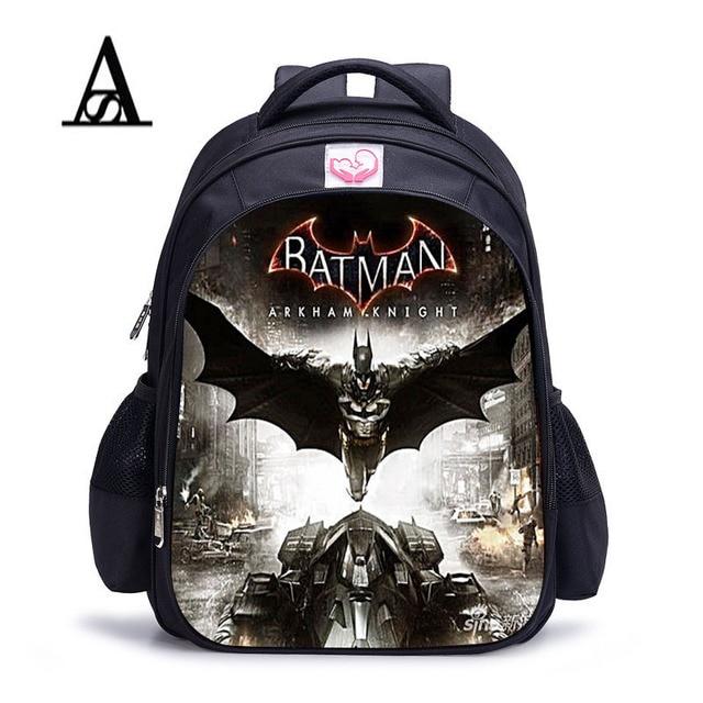 batman minecraft cartoon backpack boy cartoon school bags hot primary backpack schoolbags for