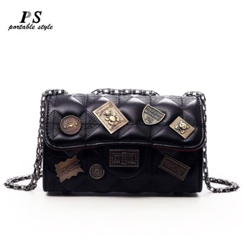 Vintage Small Genuine Leather Clutch