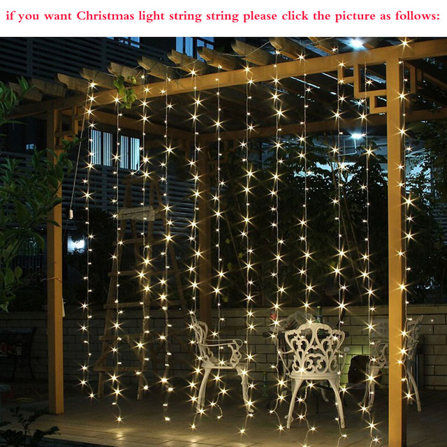 4.5x3m 300 LED Icicle String Lights Christmas xmas Fairy Lights Outdoor Home For Wedding/Party/Curtain/Garden Decoration