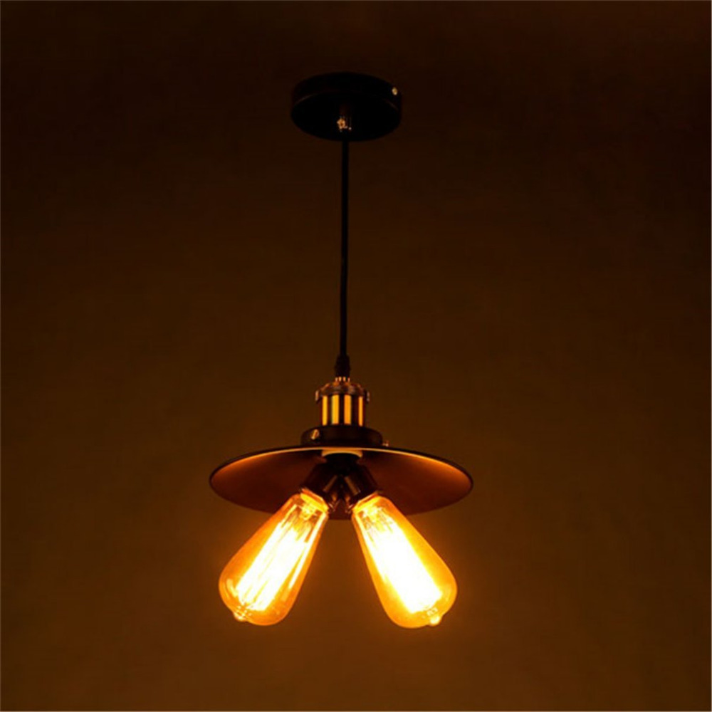Hot Sale Edison Bulb Vintage Industrial Lighting Copper Holder Lamp Pendant Light American 2