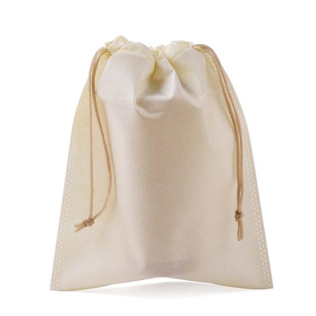 34ca2da6c Atacado bolsas de regalo Sapatos Sacos de Embalagem 30x40 cm Costume  Impresso Bege Grande Presente de
