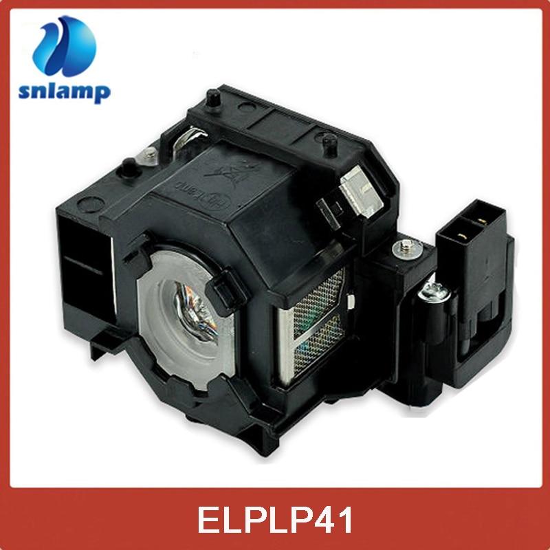 Wholesale 5pcs/lot ELPLP41 V13H010L41 Replacement Projector Lamp bulb for S5 S6 S6+S52 S62 X5 X6 X52 X62 EX30 EX50 TW420 W6 77C стоимость