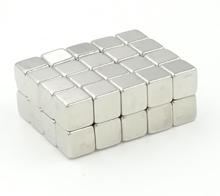 15pcs <font><b>5x5x5</b></font> mm Strong Rare Earth Block square <font><b>Neodymium</b></font> <font><b>Magnets</b></font> 5x5x5mm strong <font><b>magnet</b></font> 5*5*5 mm image