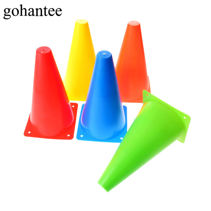 Gohantee 1PC 9.1 Inch Football Training Agility Cone Marker 23cm Safety Traffic/Soccer/Baseball Practice Agility Markers Cones