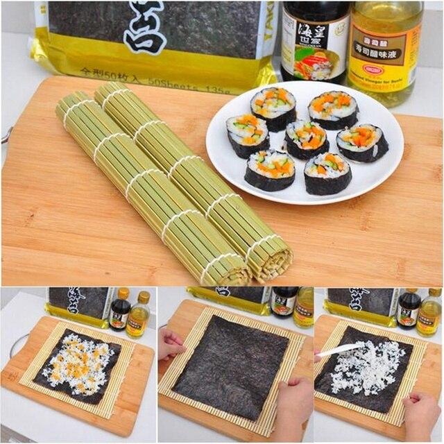 1 Stucke Diy Sushi Rollen Roller Bambusmatte Sushi Vorhang Perfekte