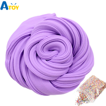 Fluffy Foam Slime Clay Ball Supplies DIY Light Soft Cotton Charms Fruit Kit Cloud Craft Antistress Kids Toys for Children