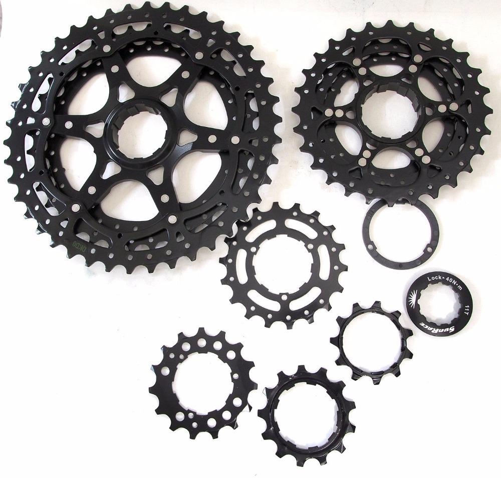 Prix pour SunRace CSMS3 MX3 11-40 t 11-42 T 10 Vitesse Large Ratio vélo vélo vtt roue libre 40 t 42 t Cassette