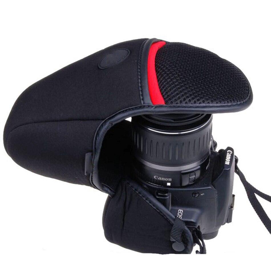 Néoprène souple Camera Case Sac De Couverture Pour Canon EOS 650D 700D 760D 750D 800D 450D 500D 550D 1300D 1200D 1100D 1000D 600D 350D 400D