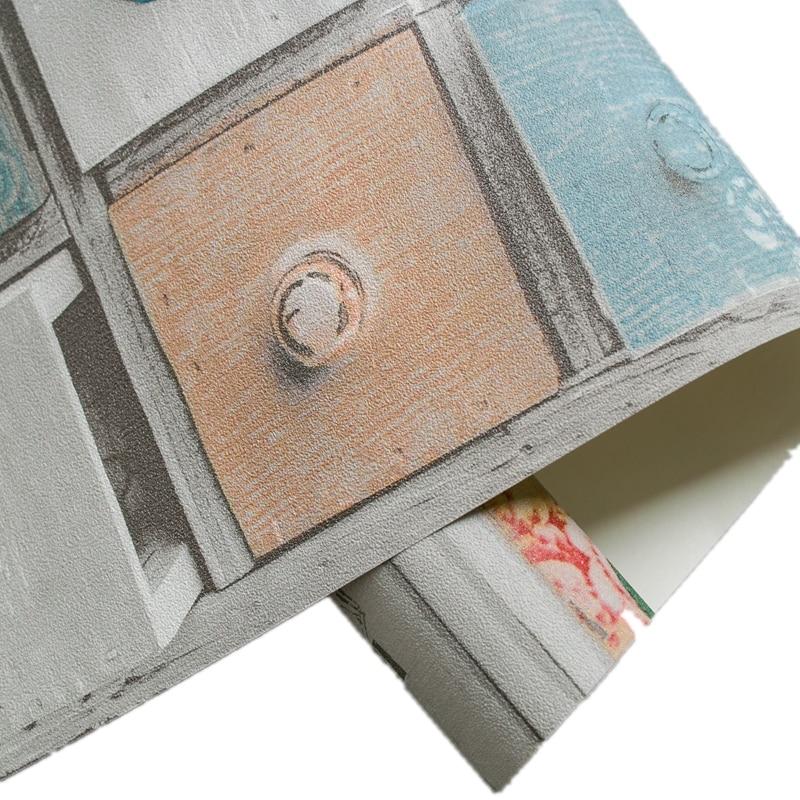 Купить с кэшбэком European Bohemian National Style Wallpaper Abstract Classical Brick  Wall Paper