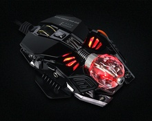 MORZZOR Computer Gaming Mouse 8 Keys Competitive Mouse Gamer 4000 DPI Wired Mause Mice Breathing Lamp Computer Peripherals