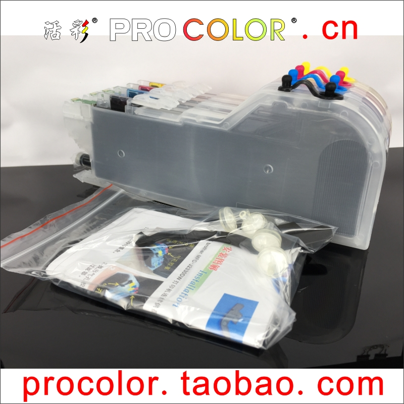 Refill Ink Cartridge LC 3213 3211 LC3211 LC3213 For BROTHER DCP-j572DW DCP J572DW MFC J491DW J497 MFC-J491DW MFC-J497DW Printer