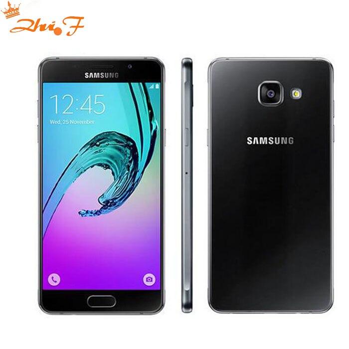 2016 Αρχικό Samsung Galaxy A5 A5100 Κινητό τηλέφωνο 2GB RAM 16GB ROM 5.2 ιντσών Dual SIM 4G LTE Octa Core 13MP Κάμερα Android OS5.1