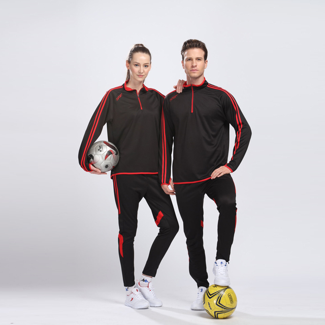 2018 New Soccer Uniform Long Suit Men