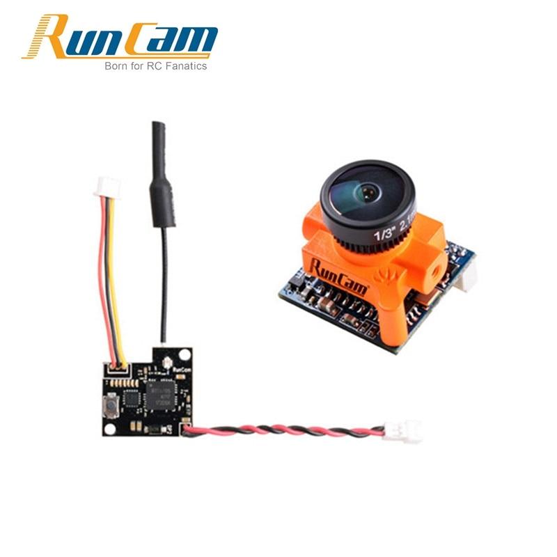 Runcam micro SWIFT 600tvl 2.1mm/2.3mm 1/3 CCD FPV Cámara runcam tx25 5.8g 48ch 25 MW vídeo transmisor para RC Racing drone
