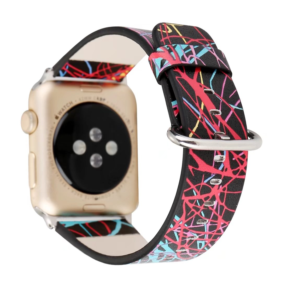 Watchband for Apple Watch iWatch Series 1 2 3 Leather