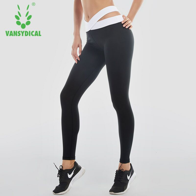 2018 black Sports Pants Women Trousers Fitness tight Running Pants Gym Female Jogging Training Basketball Pants