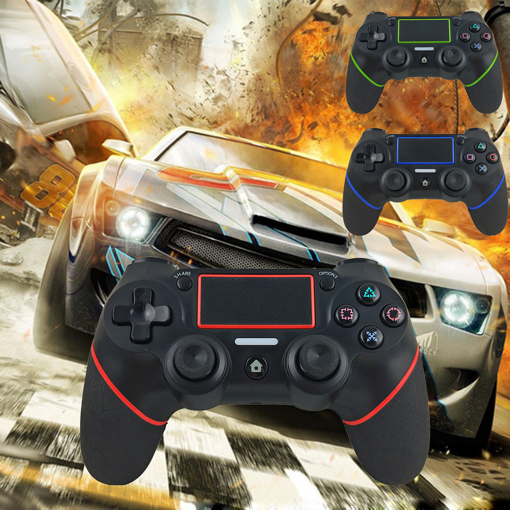 Wireless Bluetooth Gamepad Controller Joystick for Sony  PlayStation 4 PS4 Game Gamer Gaming Video Games Player Game Consol GiftWireless Bluetooth Gamepad Controller Joystick for Sony  PlayStation 4 PS4 Game Gamer Gaming Video Games Player Game Consol Gift