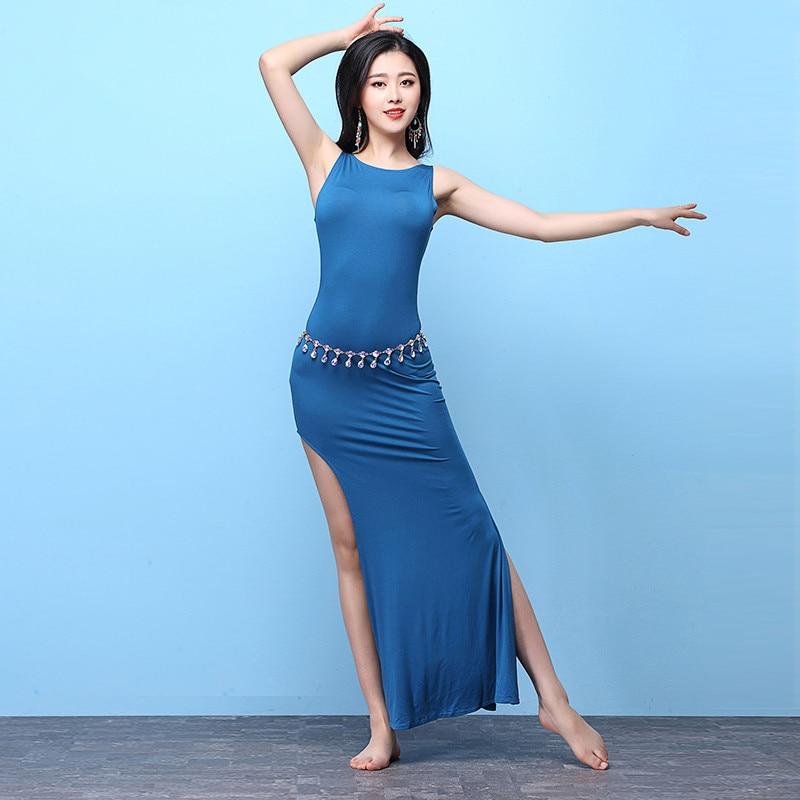 Belly Indian eastern hair swinging baladi dance costumes Bellydance oriental dancing costume robe bra belt skirt dress wear 3102
