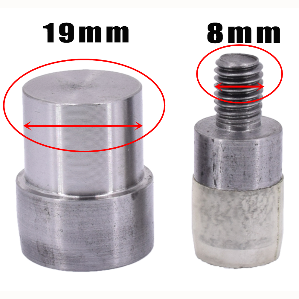 Double Capped Rivet Dies Size 33,5-9mm for Manual Press Machine
