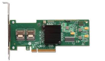 RaidStorage Avago LSI SAS 9220-8I Used 8 Port SFF8087 PCI-E 2.0 X8 6Gb/s Card RAID0.1.10.JBOD