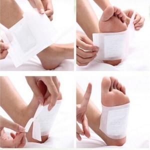 Image 3 - Kinoki Parches de desintoxicación para pies, 200 Uds. =(100 Uds. + 100 Uds. Adhesivos), almohadillas para toxinas corporales, limpieza adelgazante de pies, srmp herbaladhesivo