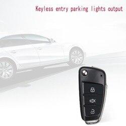 Zestaw centralnego zamykania samochodu blokada drzwi blokada pojazdu system dostępu bezkluczykowy z zdalne piloty system alarmowy samochodu uniwersalny