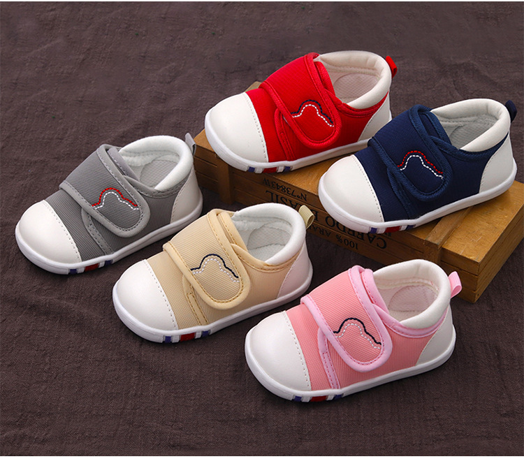 Spring Newest Baby First Walkers Shoes Breathable Autumn Canvas Boys Girls Infant Soft Sole Anti-slippery Warm Toddler Shoes (12)