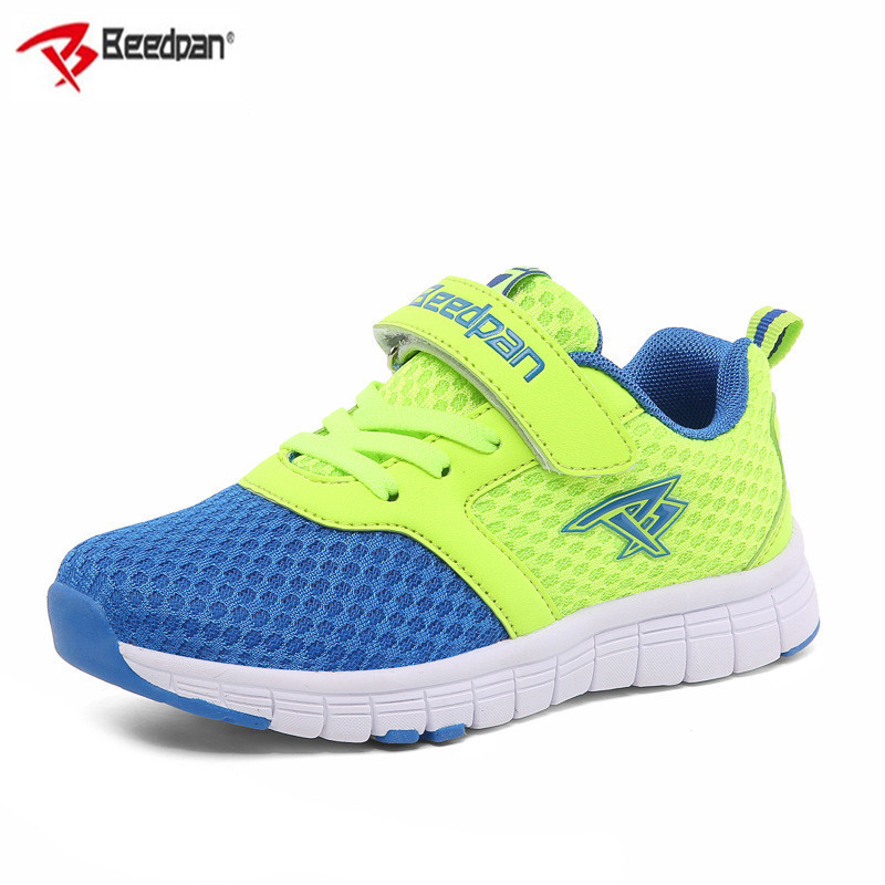Beedpan Brand 2018 New Autumn Kids Sneakers Breathable Mesh Children Sneakers Girls Boys Outdoor Shoe Fashion Sport Light Shoes comfy kids mesh children shoes sports autumn footwear baby toddler breathable girls boys sport shoe non slip kids sneakers shoes