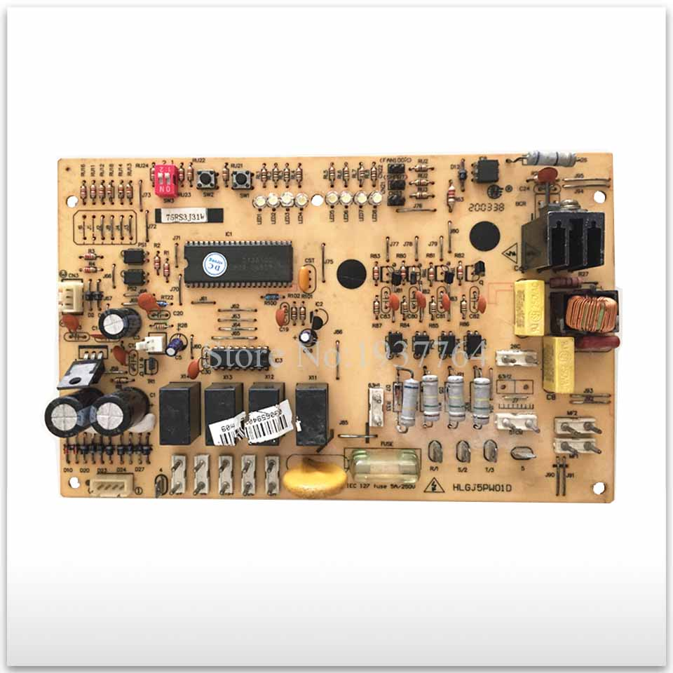 95% new for Air conditioning computer board circuit board HLGJ5PW01D 75RS4H24W 5P board good working l9930 automotive computer board