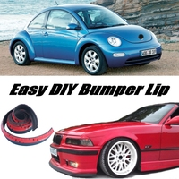Bumper Lip Deflector Lips For Volkswagen VW New Beetle Bjalla Front Spoiler Skirt For Car Tuning View / Body Kit / Strip