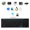 Ультратонкая качественная беспроводная клавиатура Оригинал С нержавеющей стали Rii mini i12 для планшетов/ноутбуков/ПК