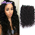 Brazilian Virgin Hair Water Wave Rosa Hair Products 3 bundles 6A Brazilian Deep Wave Curly Wet and Wavy Virgin Brazilian Hair