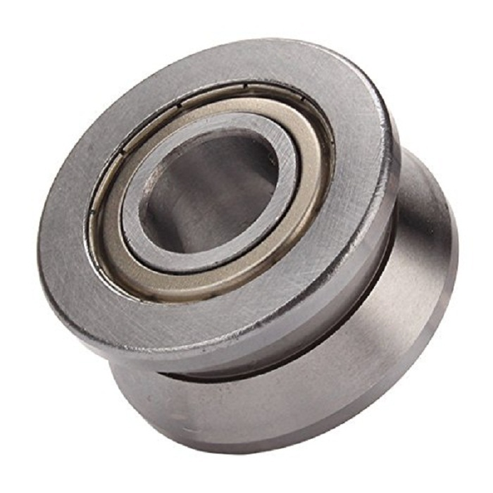 1pcs Steel V Groove Ball Bearing 15*38*17mm Roller Guide Cylindrical Guide Vgroove Bearing 1 piece bu3328 6 6 33 27 5 29 5 mm z25 guide rail u groove plastic roller embedded dual bearing